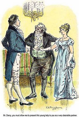 PP Detail of C. E. Brock illustration for 1895 edition of Pride and Prejudice, ch 6