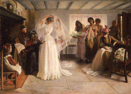 The Wedding Morning by Bacon