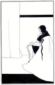 The Fall of the House of Usher, illustrated by Aubrey Beardsley, public domain