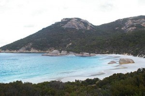Two Peoples Bay Nature Reserve in Albany, Western Australia, photo released to public domain by the author Darren Hughes